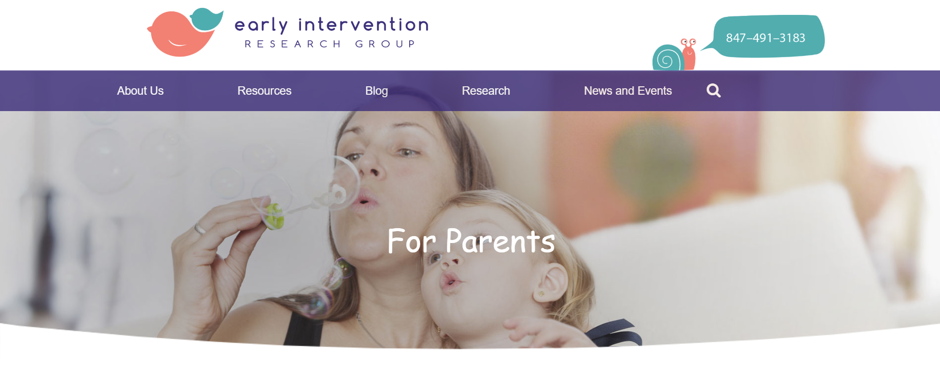 Northwestern early intervention group